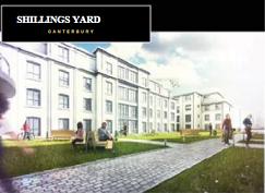 4407 Квартиры от16 до 25 кв м в комплексе Shillings Yard, Кентербери (Великобритания).