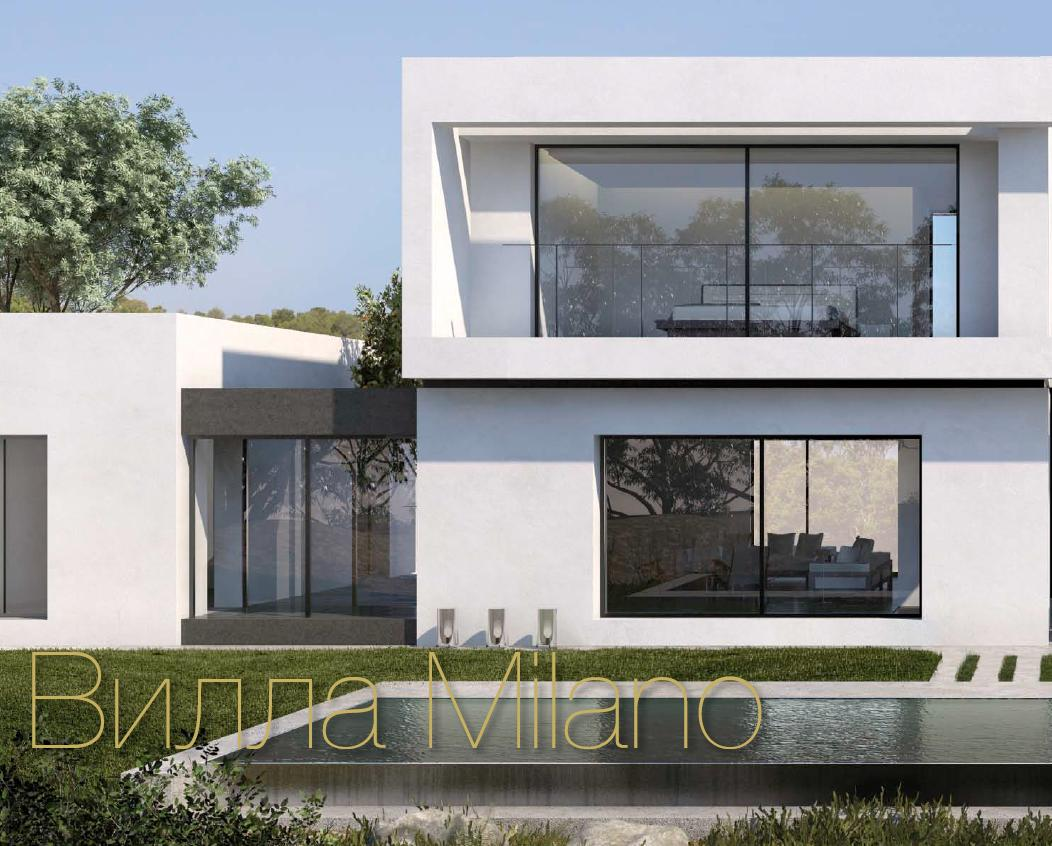 34226 The MILANO villas in the Enebro comple4x, Alicante (Spain)