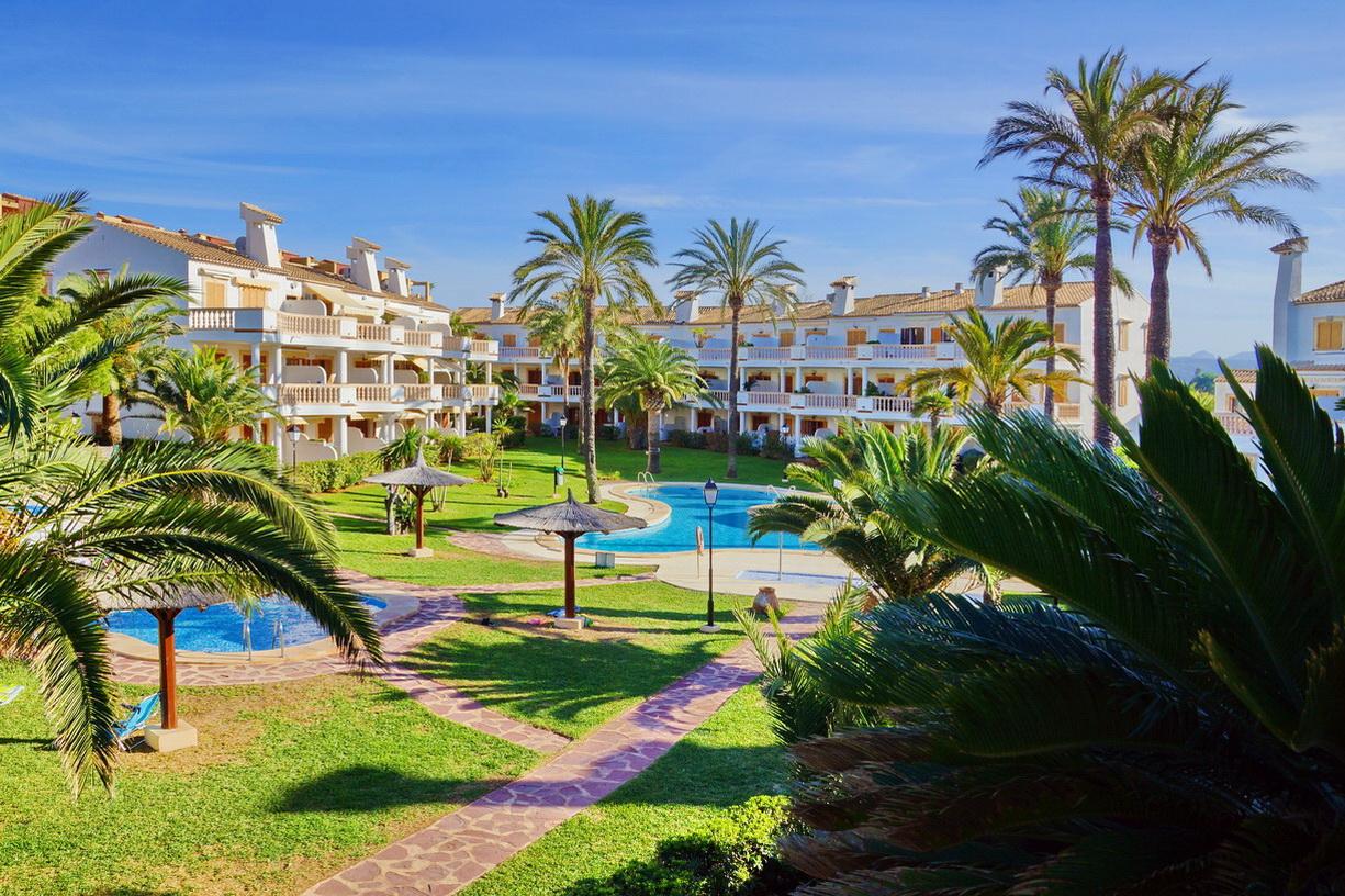 34249 Апартамент с видом на море, Дения (Испания).