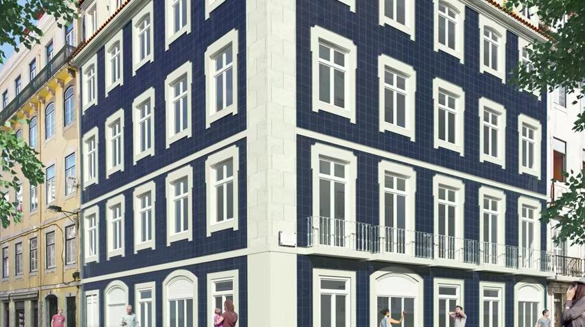 35249 Апартаменты в центре Лиссабона ( Португалия).