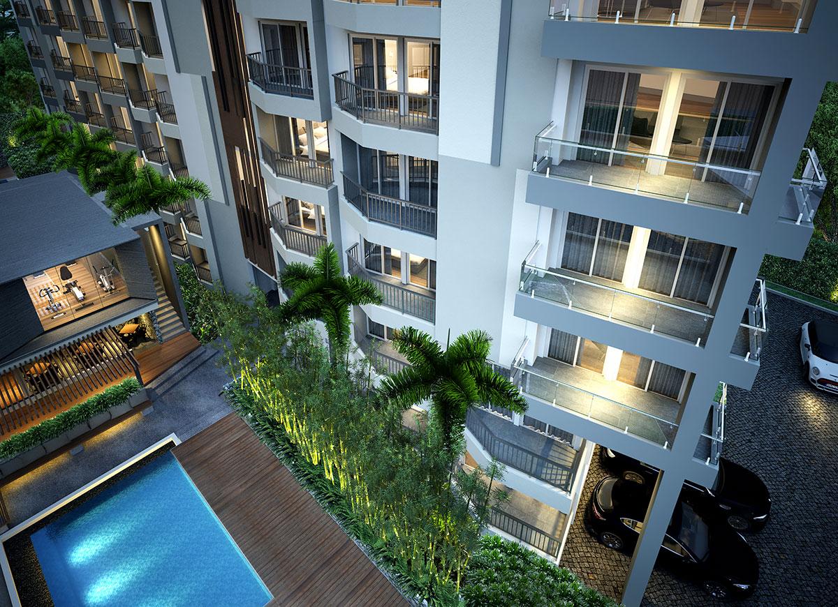 4-0118 Апартаменты  3 сп.Кондо «Мантра» Мае Пим ( Таииланд).